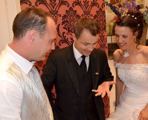 Magicien mariage, mentaliste pickpocket