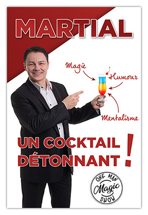 Magicien stand-up, Martial magie