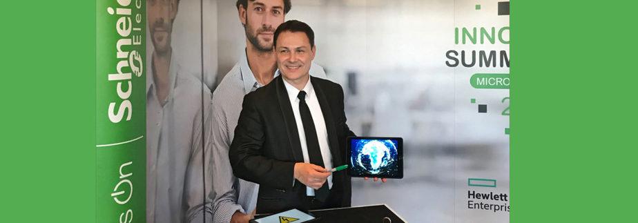 Martial magicien numérique & digital lors du roadshow Shneider Electric