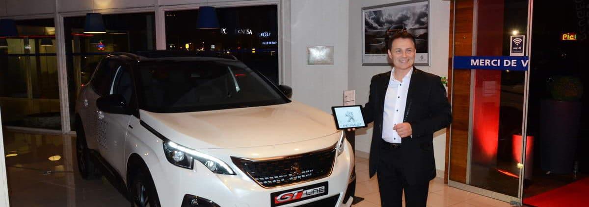 Magie numérique sur Ipad et IPhone pour la sortie du nouveau SUV PEUGEOT 3008