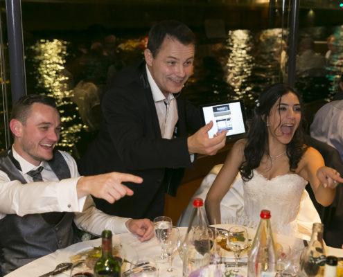 magicien mariage, magie digitale