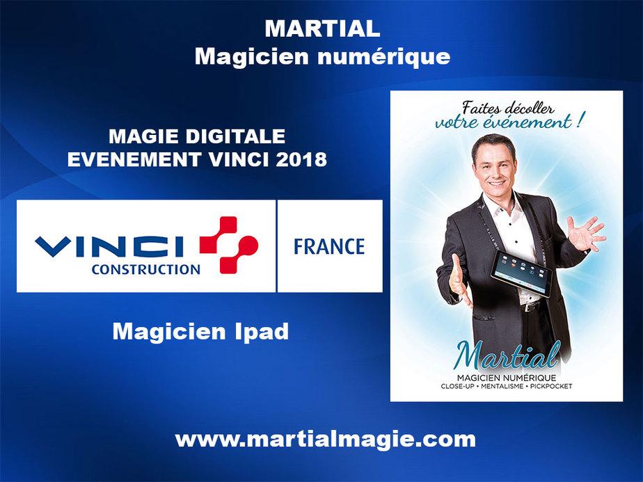 Magicien Ipad - Magicien Paris