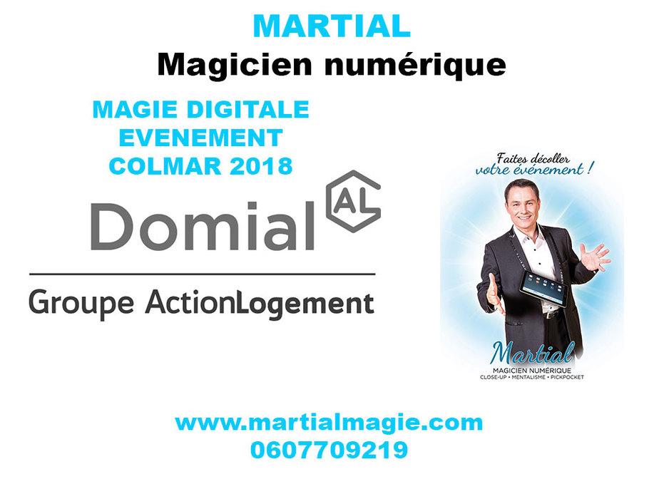 Magie numérique- Magicien dans toute la France