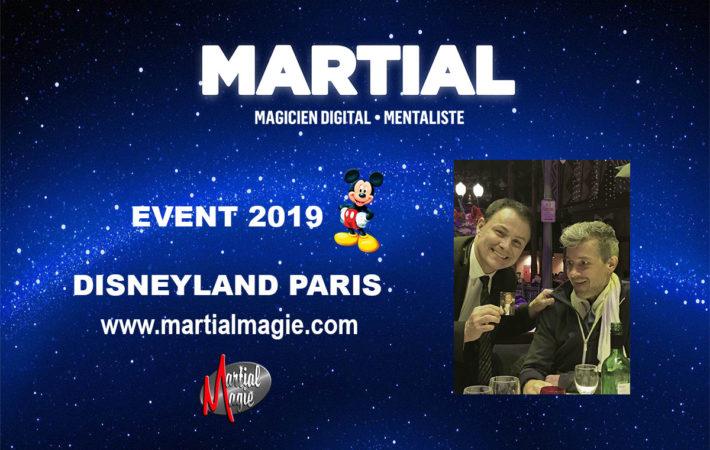 Magicien mentaliste Disneyland Paris