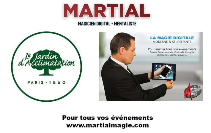 Magie digitale à Paris