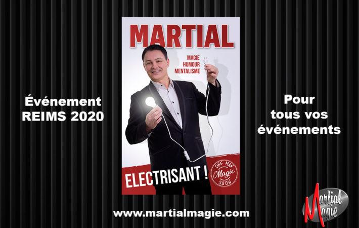 Magicien et mentaliste à Reims